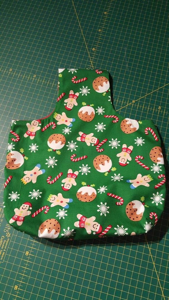 Christmas arm yarn bag