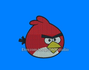 Angry Birds Embroidery Design - 6 Sizes - INSTANT DOWNLOAD
