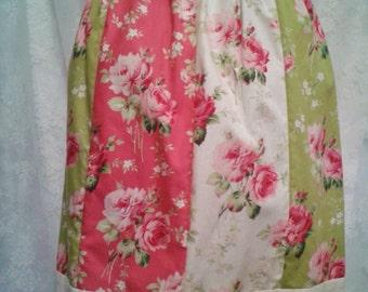 Patchwork Floral Skirt