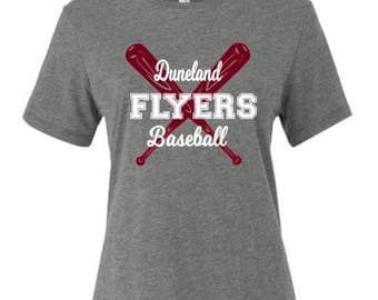 Duneland Flyers Baseball Spirit Wear T-Shirt