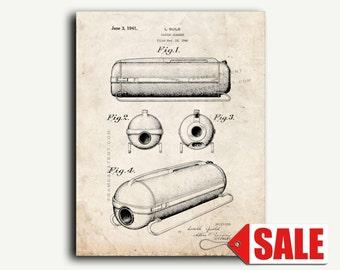 Patent Art - Vacuum Cleaner Patent Wall Art Print