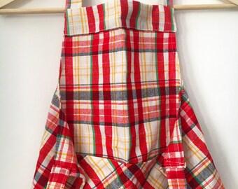 Vintage handmade apron