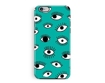 iPhone 6S Cover, iPhone 6S Case, Eye Pattern iPhone 6S case, Eye pattern phone Case, Bumper iphone 6s case, Gifts for women, Gifts for her