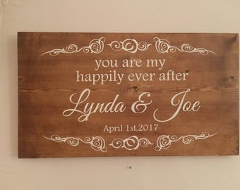 Wedding Sign,Love plaque,marriage sign,wedding plaque,home wall sign, antiqued wedding sign, country wedding sign, wedding announcement sign