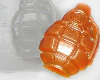 Grenade mold, soap mold, bomb mold, bombshell mold, whizzbang mold, whizbang mold, weapon mold, plastic mold, plaster mold, chocolate mold