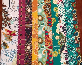 Midnight Temple Indie by Pat Bravo for Art Gallery Fabrics Fat Quarter Bundle