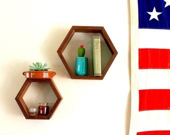 Set of Honeycomb Shelves