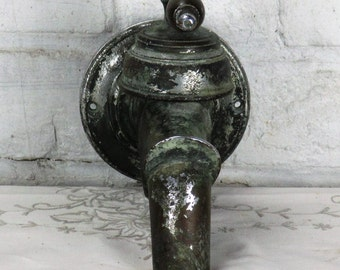 Xl Antique Faucet Tap Architectural Industrial Barn Sink Reclaimed WOW