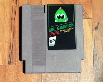 Mr. Gimmick NES Reproduction | Video Game | Nintendo | Translation | Repro | Retro Game
