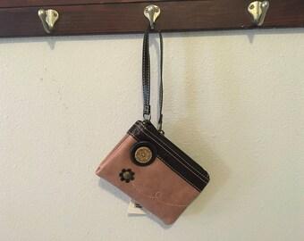 Double zip wallet