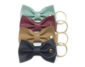 Bow Keychain // Bow Key Fob