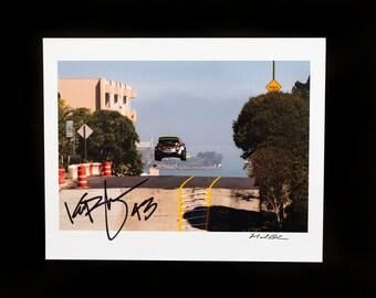 Signed Ken Block Gymkhana 5 Hill Jump Print