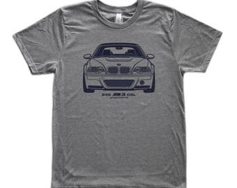 BMW E46 M3 CSL Graphic T-Shirt