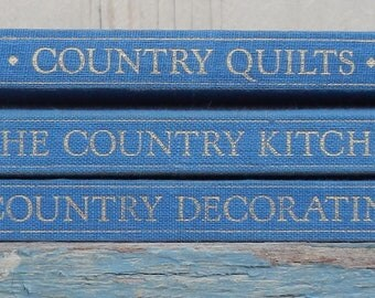 Trio of Wonderful Classic Country Coffee Table Books!