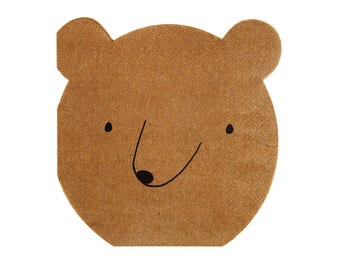 Small Bear Napkins