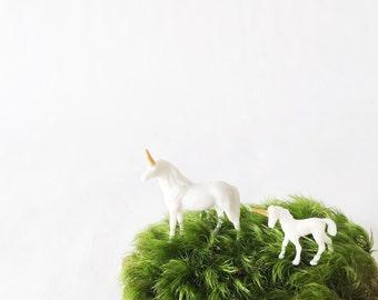 Baby Unicorn or Adult Unicorn DIY Terrarium Figurine
