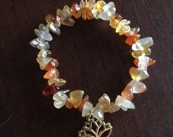 Stone Charm Bracelet