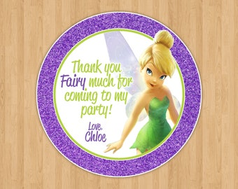 Tinkerbell Favor Tags