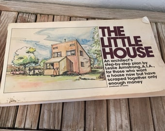 Vintage Book Titled The Little House An Architect's Step By Step