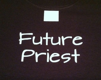 FUTURE PRIEST Boys Catholic T-shirt