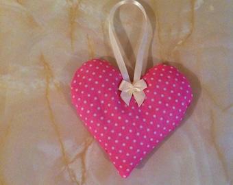Scented heart, lavender sachet, lavender heart,