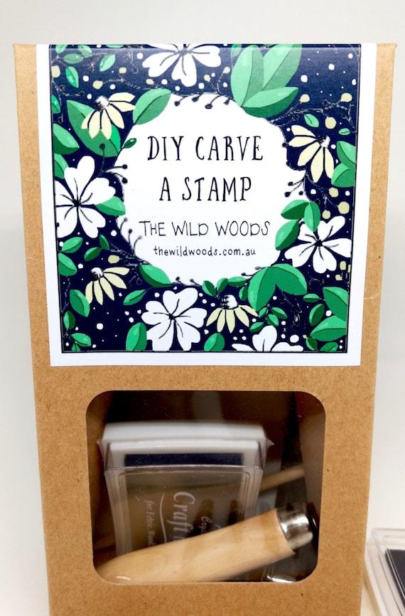 Diy kit stamp carving rubber