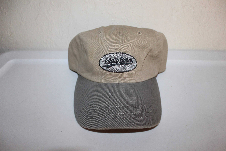 Vintage 90 s Eddie Bauer Strapback Dad Hat by Eddie Bauer 1056be167feb