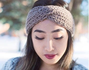 ON SALE!** Chunky Knitted Adult Turban, Twisted Headband! Fall Accessory, Super Warm and Bulky! 10 Colors to Choose From!