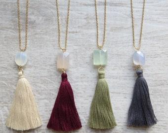 Classic Tassel Necklace (Kiki Tassel Necklace)