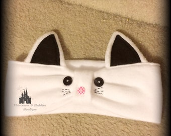 Kitty Cat Ear warmers