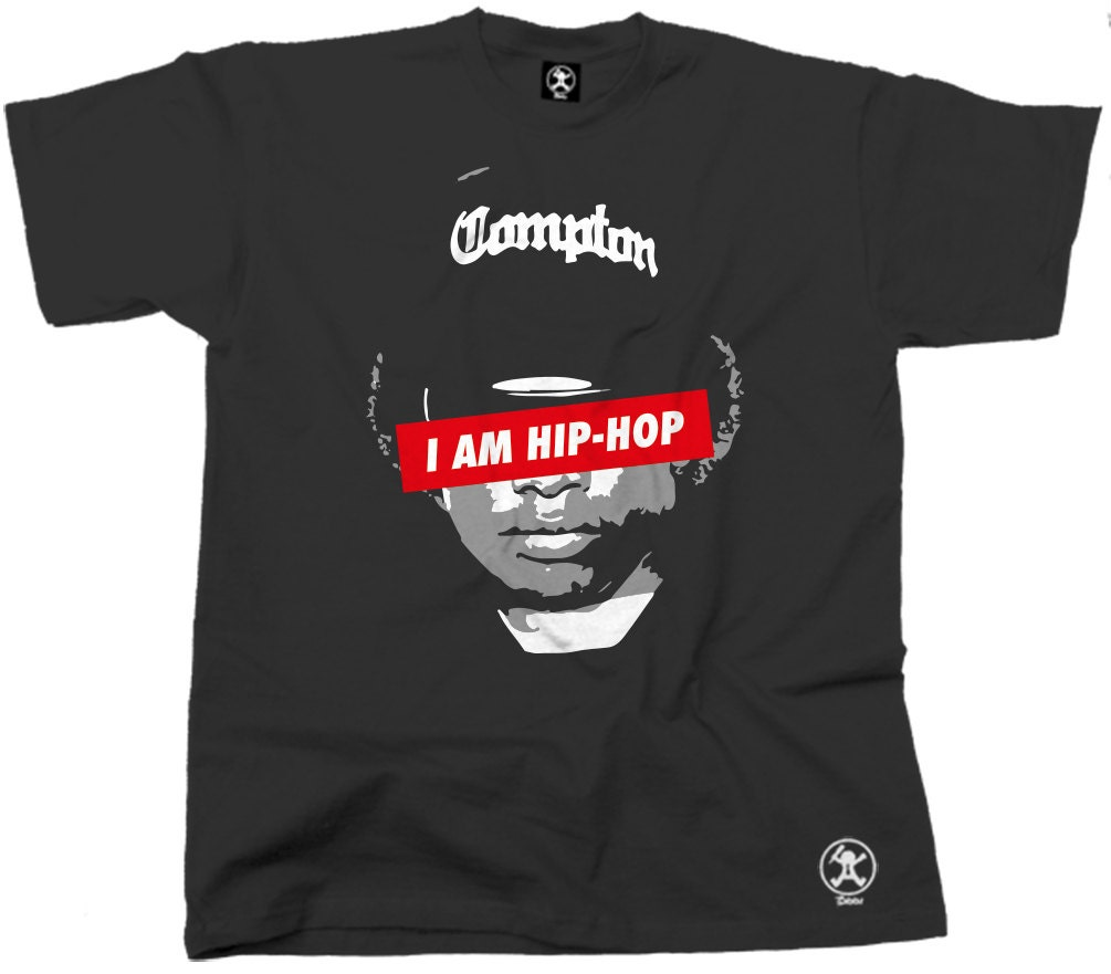Easy e i am hip hop tshirt nwa straight outta compton obey tee for Just hip hop t shirt