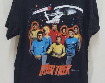Vintage 1991 Star Trex crew paramount pictures shirt