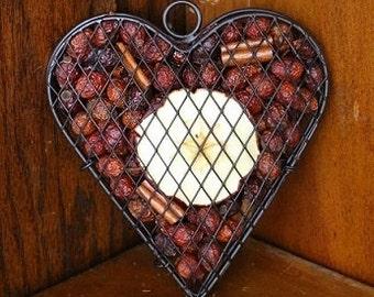 Apple Mesh Heart