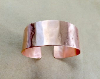 Copper cuff bracelet, Wide Copper bracelet, women's copper bracelet, copper jewelry, copper handmade, cuff bracelet, copper