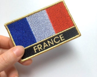 France Embroidered Patch