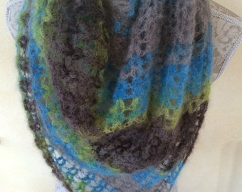 "Lightweight scarf from Silkhair ""Slanty"""