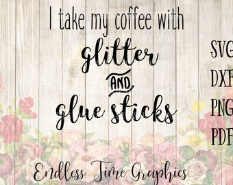 Coffee SVG Cut File. Coffee Cut File. Decal for Coffee Cup. Coffee Digital Decal. Glitter SVG. Coffee Cut File. Coffee Digital Download 080