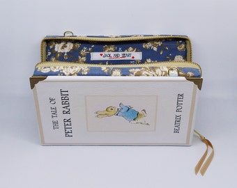 Book clutch PETER RABBIT leather