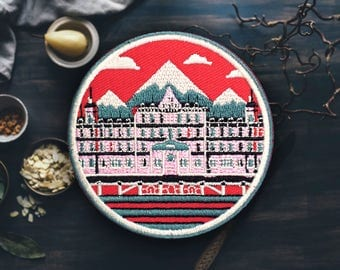 "The Grandest of Budapests Patch | Sew On | Embroidered | Patches for Jackets | 2.75"" (Free Shipping US)"
