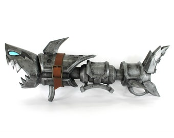 Fully Finished Jinx Fishbones League of Legends Cosplay Prop + FREE SHIPPING