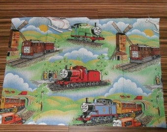 Rare vintage Thomas and Friends Cotton fabric