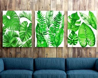 Jungle wall art | Etsy