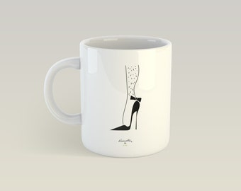 Mug - Needles - Cup ceramic Talents, gift