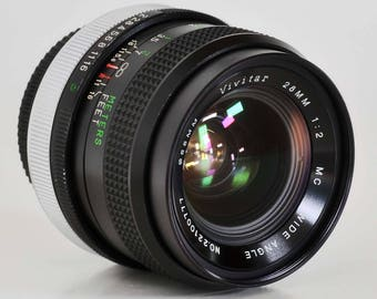 Canon FD 28mm f/2 Wide Angle Prime Lens AE-1 a-1 f-1 t90 T70 Sony NEX MiNTY ! except for...