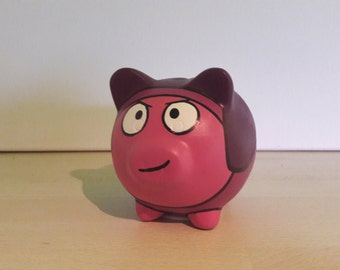 Mini piggy bank etsy for Mini piggy banks