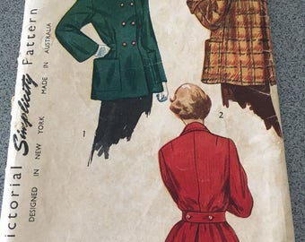Vintage Simplicity Jacket Pattern 2949