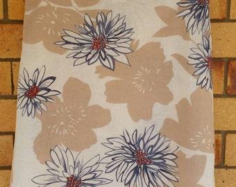 Size 8 Floral Vintage Print A-Line Skirt