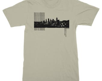 Lost In Atlanta T Shirt by Modern Monster
