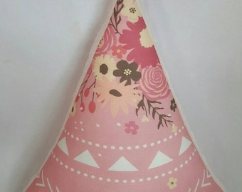 Tee Pee Cushion - Bohemian - Girl