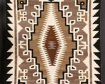 navajo rug designs two grey hills. Native American Hand Made Vintage Navajo Two Grey Hills Wool Textile, By Nellie Succo, Rug Designs